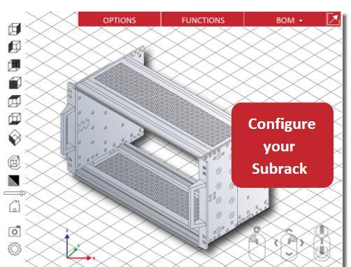 YouTube Video on Subrack configurator