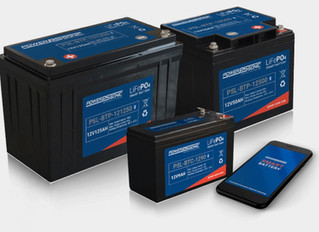 Power Sonic Launches Lithium Bluetooth Batteries