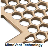 EMI Fan Guards Using Microvent Technology