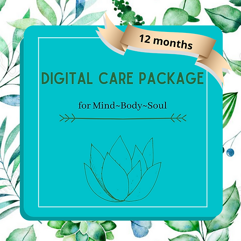 1 YEAR OF DIGITAL CARE PACKAGES