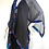 Thumbnail: Silk Chiffon Wrap - Charcoal Grey +Blue & teal