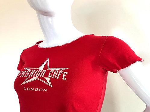 Vintage London Fashion Cafe T-shirt - Small