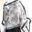 Thumbnail: Silk Chiffon Wrap - Grey Mist + Silver