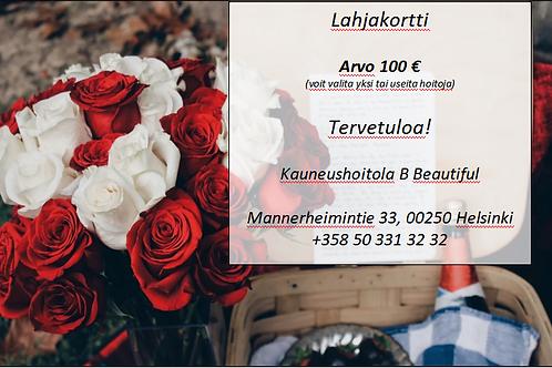 Lahjakortti (arvo 100€)