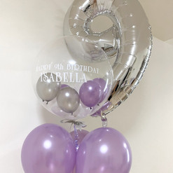 Girl's birthday balloon