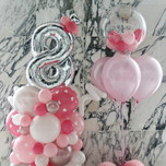 Girl's birthday balloon