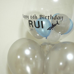 Boy's birthday balloon