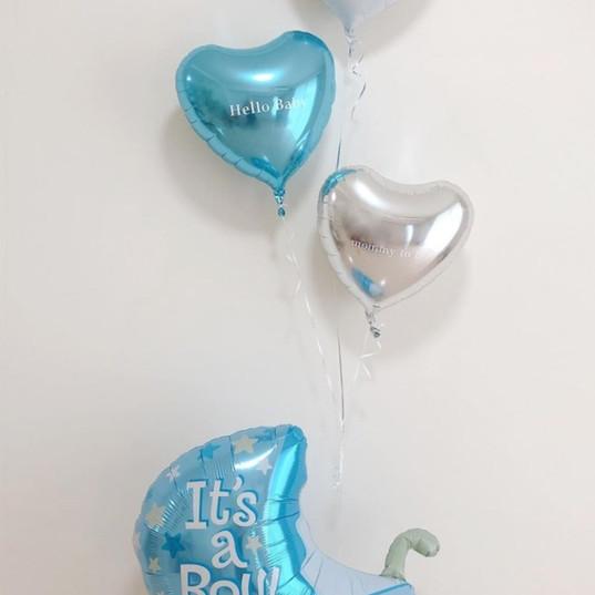 Baby shower's balloon
