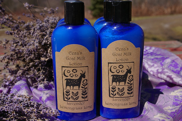 Lavender Lemongrass Lime Goat Milk Lotion
