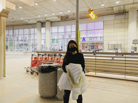 長期語学留学(カレッジ進学予定)/現在ご留学中/平野愛惟様