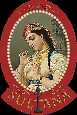 Sultana Indy Hooka Bar Logo