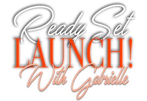 Ready set launch with Gabrielle peach 2.