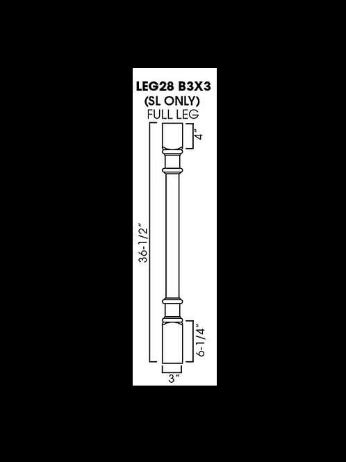 LEG28 B3X3 GRAMERCY WHITE