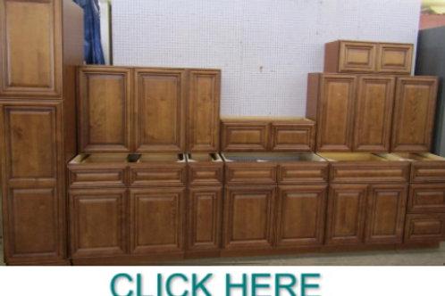 10'x12' Sedona Chestnut Kitchen  Cabinet Set