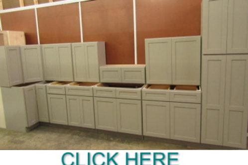 13pc 10'x15' Stone Harbor Grey  Kitchen Cabinet Set