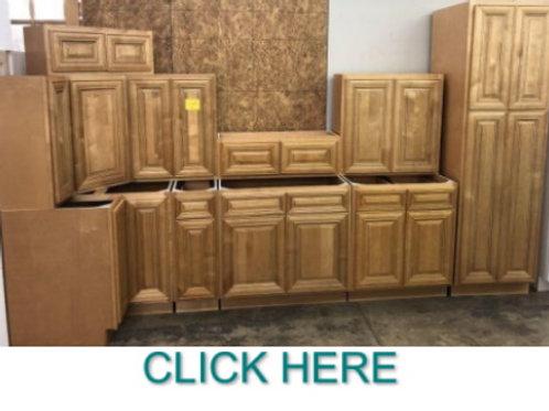11pc. 10'x12' Mocha Kitchen  Cabinet Set