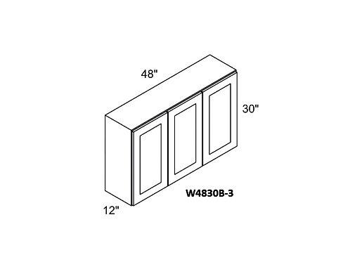 W4830B-3 CHERRY GLAZE