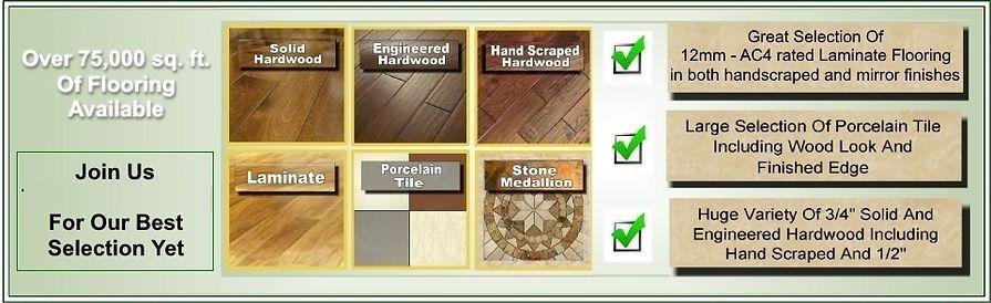 NY Flooring Auction