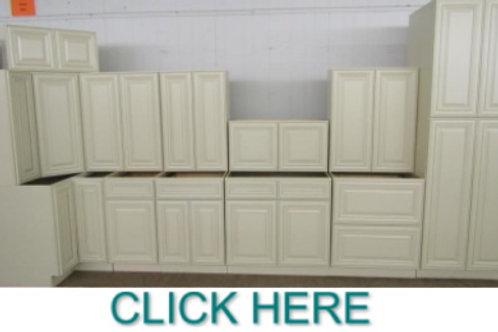 13pc. 10'x15' Perla Kitchen  Cabinet Set