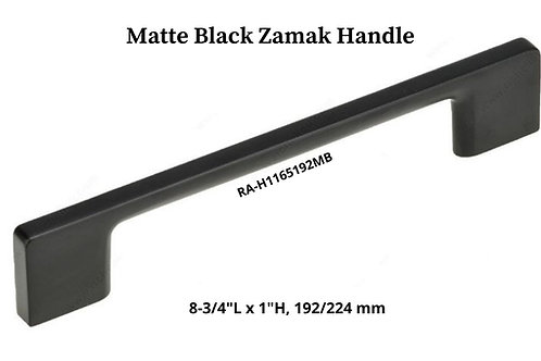 Matte Black Zamak Handle
