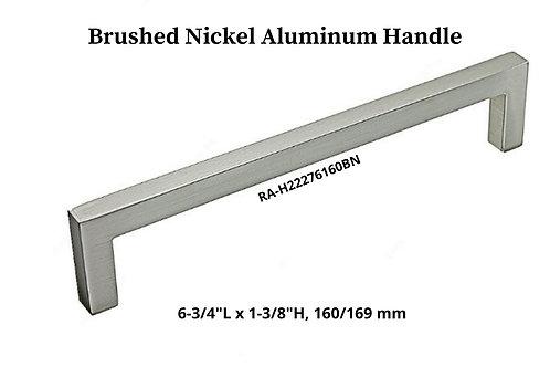 Brushed Nickel Aluminum Handle