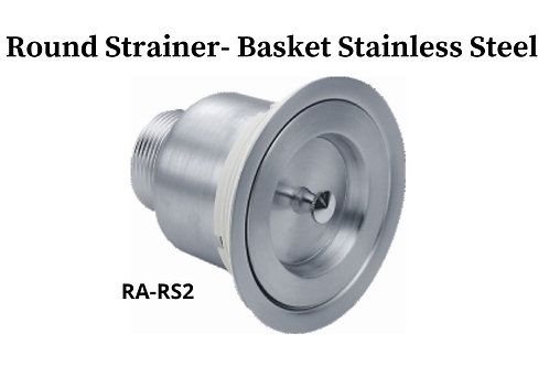 Round Basket Strainer for Stainless Sink