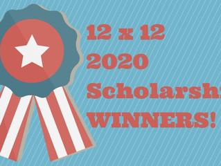 2020 12x12 Scholarship Winner
