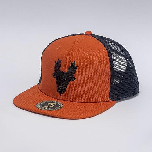 Briedis Orange/Black Icon Flat trucker 1 of 18 Limited