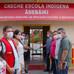 Na Terra Indígena Puyanawa Prefeito Isaac Lima entrega uma creche escola e um ônibus escolar.