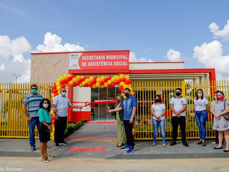 Assistência Social: Prefeitura entrega prédio totalmente novo como parte do pacote de R$ 17 milhões