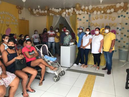 Agosto dourado: Secretaria de Saúde encerra campanha de incentivo a amamentação