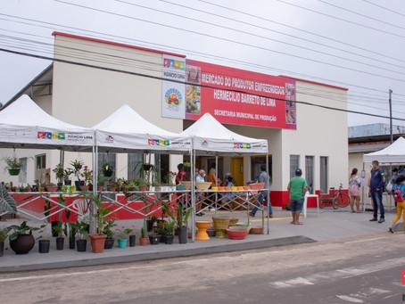 Feira Livre do Mercado Hermecílio Barreto apresenta resultados positivos e ótima movimentação