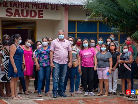 Outubro Rosa: Prefeitura de Mâncio Lima investe na prevenção contra o câncer de mama