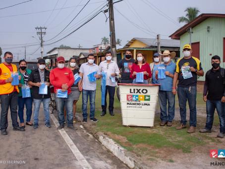 Semana do Meio Ambiente reforça importância da Coleta Seletiva em Mâncio Lima