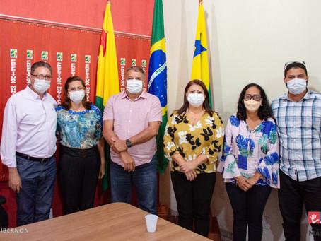 Prefeitura de Mâncio Lima e CREA/AC se reúnem para reafirmação de parcerias