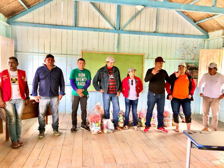 Prefeitura de Mâncio Lima presta assistência às vítimas da enchente