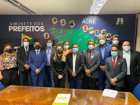 Em Brasília: Prefeito Isaac Lima realiza agendas importantes em busca de recursos para Mâncio Lima