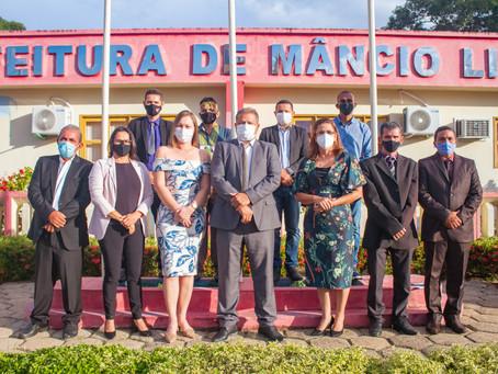 Isaac Lima é diplomado prefeito de Mâncio Lima junto com sua vice-prefeita Ângela Valente