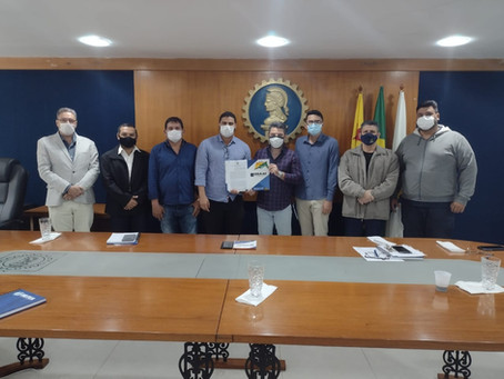 Prefeitura de Mâncio Lima discute firmação convênio com o CREA/Acre