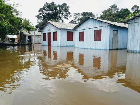 Rios em Mâncio Lima transbordam a já afetam mais de 356 famílias