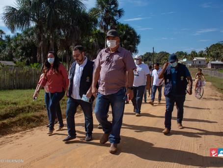 Prefeitura de Mâncio Lima e Governo do Acre executam obras do Programa Operação Apoio