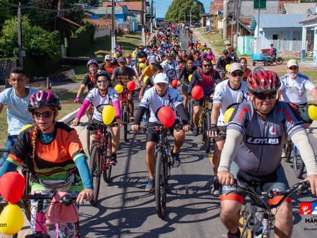 1ª Cicleata de Mâncio Lima tem participação recorde