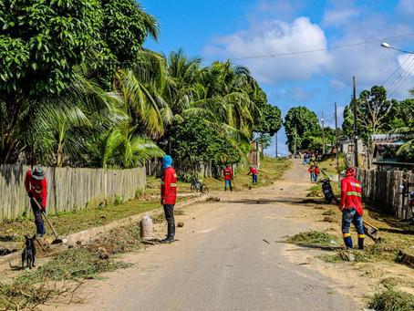 Mâncio Lima inicia mutirão de limpeza pública para combater dengue e malária.