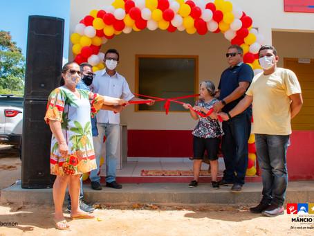 Educação: mais uma escola é entregue em comunidade rural de Mâncio Lima