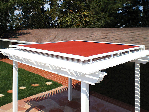 Pinnacle Two Retractable Sun Structure | Cape Cod Awnings