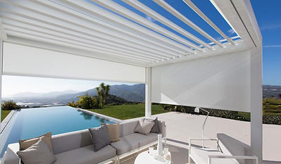 Big Sky Room | Retractable Solar Screens