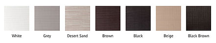 Big Sky Room | Solar Screen Options | Screen 80 | Screen 90 | Color Options