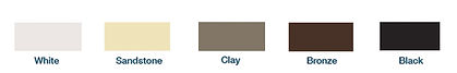 Louver Frame Color Options | Big Sky Room | Louver System