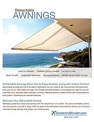 Retracable Awnings | Shade and Shutter | Cape Cod Awning