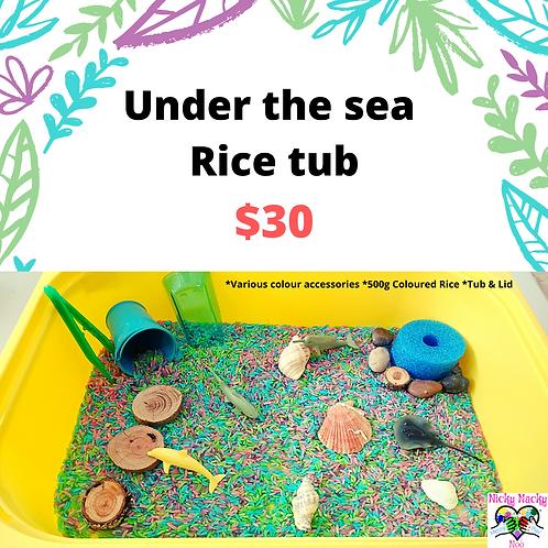 Under The Sea Rice Tub